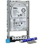 Dell 400-AUQX 2.4TB 10K SAS 2.5-Inch PowerEdge Enterprise Hard Drive in 13G Tray Bundle with Compatily Screwdriver Compatible with 400-AVBX W9MNK R720 R730 R630