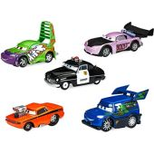 Disney Sheriff & Tuner Cars Pullback Die Cast 5-Pack - Cars