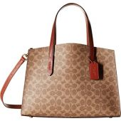 COACH Charlie Carryall in Signature Canvas