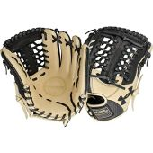 Under Armour Genuine Pro 11.75 Inch UAFGGP-1175MT Baseball Glove - Black/Cream