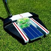Eye Putt Pro Golf Training Aid Putting Alignment Mirror by 911 Golf | Visually Learn a Professional, Consistent & Confident Putting Setup | Eyes Over Golf Ball & Eyeline with Perfectly Leveled