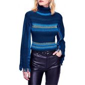 Free People Close to ME Pullover (Blue)